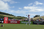 Peter Uihlein drives at the 16th during the 3rd round of ISPS Handa Wales Open 2013<br /> Celtic Manor Resort<br /> 31.08.13<br /> <br /> ©Steve Pope-Sportingwales