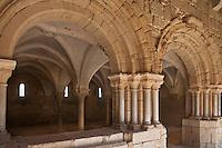 Europe/France/Midi-Pyrénées/32/Gers/Valence-sur-Baïse: Abbaye de Flaran - La salel capitulaire du XIV ème