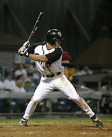 August 25, 2003:  Craig Stansberry of the Williamsport Crosscutters, Short Season Class-A affiliate of the Pittsburgh Pirates, during a NY-Penn League game at Bowman Field in Williamsport, PA.  Photo by:  Mike Janes/Four Seam Images