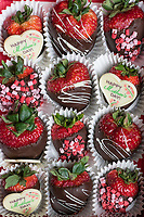 Chocolate covered strawberry Mother's Day gift.