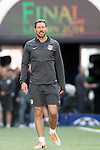 Atletico de Madrid's coach Diego Pablo Cholo Simeone during training session previous to the UEFA Champions League 2013/2014 Final match.May 23,2014. (ALTERPHOTOS/Acero)
