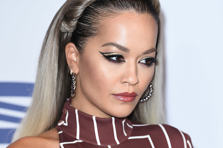 Rita Ora<br /> at the 2019 Jingle Bell Ball, O2 Arena, London.<br /> <br /> ©Ash Knotek  D3544 07/12/2019