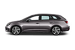 Car Driver side profile view of a 2017 Seat Leon-ST FR 5 Door Wagon Side View