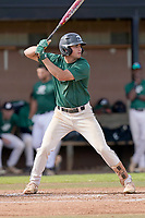 Noah Rabon (7) of the University of South Carolina Upstate Spartans bats in the Green and Black Fall World Series Game 2 on Saturday, October 31, 2020, at Cleveland S. Harley Park in Spartanburg, South Carolina. Green won, 6-5. (Tom Priddy/Four Seam Images)