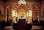 EGY, Aegypten, Assuan: Old Cataract Hotel, Lobby | EGY, Egypt, Assuan: Old Cataract Hotel, lobby
