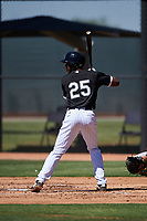 AZL White Sox DJ Gladney (25) at bat during an Arizona League game against the AZL Athletics Gold on July 4, 2019 at Camelback Ranch in Glendale, Arizona. The AZL White Sox defeated the AZL Athletics Gold 6-2. (Zachary Lucy/Four Seam Images)