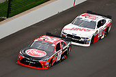 #18: Ryan Preece, Joe Gibbs Racing, Toyota Camry Rheem and #00: Cole Custer, Stewart-Haas Racing, Ford Mustang Haas Automation