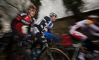 Ronde van Vlaanderen 2013..Klaas Lodewyck (BEL) up the Taaienberg