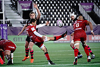 16th October 2020, Stade Maurice David, Aix-en-Provence, France;  Challenge Cup Rugby Final Bristol Bears versus RC Toulon;  Baptiste Serin (RC Toulon) kicks for field position
