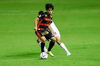 23rd August 2020; Estadio Ilha do Retiro, Recife, Pernambuco, Brazil; Brazilian Serie A, Sport Recife versus Sao Paulo; Ricardinho of Sport Recife keeps control of the ball