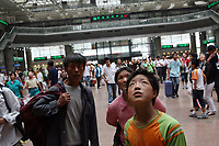 CHINA. Beijing. Scene from Beijing West Train Station. 2007.
