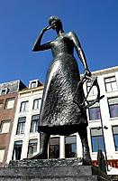 Nederland  Nijmegen  - September 2020 .  De Grote Markt. Mariken van Nimwegen.     Foto : ANP/ Hollandse Hoogte / Berlinda van Dam