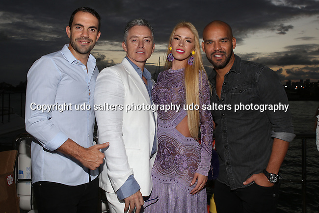TRUE LOVE  Exhibition Held on the Ironman Yacht during Art Basel TRUE LOVE  Exhibition and Deysi Calderon Birthday Celebration Held on the Ironman Yacht during Art Basel