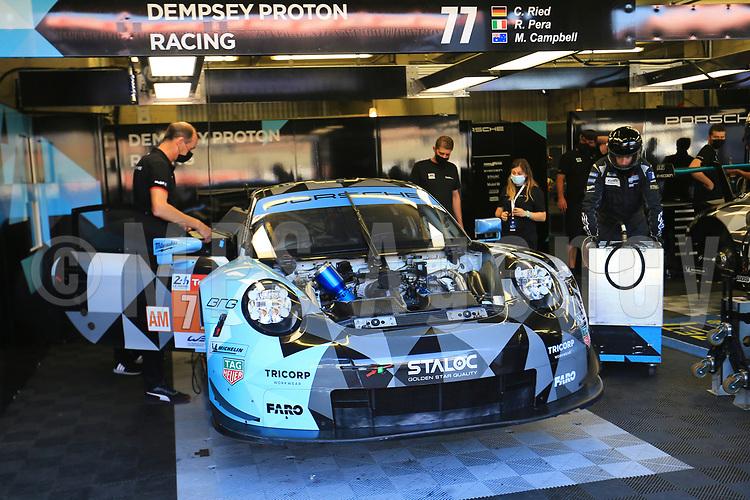 #77 DEMPSEY-PROTON RACING (DEU) PORSCHE 911 RSR LM GTE AM  CHRISTIAN RIED (DEU) RICCARDO PERA (ITA) MATT CAMPBELL (AUS)