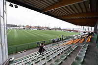 illustration picture of the Stedelijk Stadion in Zulte pictured during a female soccer game between SV Zulte - Waregem and Sporting Charleroi on the eleventh matchday of the 2020 - 2021 season of Belgian Scooore Womens Super League , saturday 23 th of January 2021  in Zulte , Belgium . PHOTO SPORTPIX.BE   SPP   DIRK VUYLSTEKE