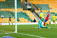 20th March 2021; Carrow Road, Norwich, Norfolk, England, English Football League Championship Football, Norwich versus Blackburn Rovers; Kenny McLean of Norwich City scores for 1-0 in the 53rd minute