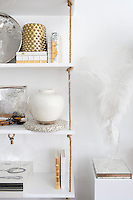 modern white vase Get A Room is a boutique in Scarsdale New York for interior design.