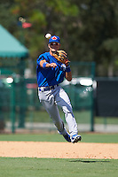Toronto Blue Jays Kevin Vicuna (53) during an instructional league game against the Atlanta Braves on September 30, 2015 at the ESPN Wide World of Sports Complex in Orlando, Florida.  (Mike Janes/Four Seam Images)