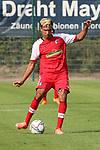 Claudio Kammerknecht (Nr.5, SC Freiburg) am Ball  beim Spiel, FC Astoria Walldorf - SC Freiburg II.<br /> <br /> Foto © PIX-Sportfotos *** Foto ist honorarpflichtig! *** Auf Anfrage in hoeherer Qualitaet/Aufloesung. Belegexemplar erbeten. Veroeffentlichung ausschliesslich fuer journalistisch-publizistische Zwecke. For editorial use only. DFL regulations prohibit any use of photographs as image sequences and/or quasi-video.