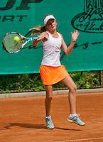 August 4, 2014, Netherlands, Dordrecht, TC Dash 35, Tennis, National Junior Championships, NJK,   Laura Smit<br /> Photo: Tennisimages/Henk Koster