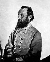 """Gen. """"Stonewall"""" Jackson, C.S.A., 1863.  George W. Minnes.  Mathew Brady Collection. (Army)<br /> Exact Date Shot Unknown<br /> NARA FILE #:  111-B-1867<br /> WAR & CONFLICT BOOK #:  133"""