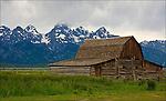 Mormon Row in the Grand Teton National Park