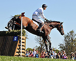 Cool Mountain and William Fox-Pitt. World Equestrian Games- Eventing- Cross Country