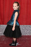 Lacey Findlow<br /> arriving for The British Soap Awards 2019 at the Lowry Theatre, Manchester<br /> <br /> ©Ash Knotek  D3505  01/06/2019
