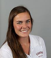 Catherine Carpenter a member of Stanford women's water polo team. Photo taken Tuesday, September 25, 2012. ( Norbert von der Groeben )