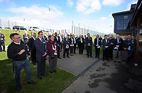Pictured: Guests at the opening ceremony Tuesday 04 April 2017<br />
