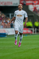 Saturday 20th September 2014  Pictured:  Wayne Routledge<br /> Re: Barclays Premier League Swansea City v Southampton  at the Liberty Stadium, Swansea, Wales,UK