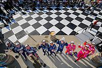 LMP2 Podium, #11: WIN Autosport, ORECA LMP2 07, LMP2: Steven Thomas, Tristan Nunez, Thomas Merrill, #52: PR1 Mathiasen Motorsports ORECA LMP2 07, LMP2: Ben Keating, Mikkel Jensen, Scott Huffaker, #22: United Autosports ORECA LMP2 07, LMP2: James McGuire, Wayne Boyd, Guy Smith