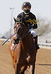 April 03, 2021: #13 Bound for Nowhere and jockey Joel Rosario (outside) win the 25th running of the Shakertown Grade 2 $200,000 for owner and trainer Wesley Ward, outdueling #2 Imprimis and jockey Paco Lopez at Keeneland Racecourse in Lexington, KY on April 03, 2021.  Candice Chavez/ESW/CSM