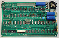 BNPS.co.uk (01202 558833)<br /> Pic: RRAuction/BNPS<br /> <br /> Pictured: The computer's motherboard.<br /> <br /> A fully-working Apple-1 computer has sold for £273,000.<br /> <br /> The pioneering machine is one of the 200 'motherboards' Apple founder Steve Jobs and his associate Steve Wozniak designed in 1976.<br />  <br /> Around 70 Apple-1 computers are known to exist today and of those less than 10 still work.