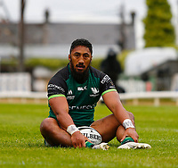 4th June 2021; Galway Sportsgrounds, Galway, Connacht, Ireland; Rainbow Cup Rugby, Connacht versus Ospreys; Connacht centre Bundee Aki sits one out