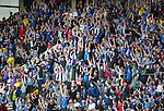 St Johnstone v Eskisehirspor...26.07.12  Europa League Qualifyer.Despite the result saints fans take part in a mexican wave.Picture by Graeme Hart..Copyright Perthshire Picture Agency.Tel: 01738 623350  Mobile: 07990 594431