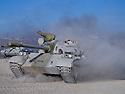 Iraq 2010 At Bani Slawa camp, tanks recovered by the Kurds in 2003 from Iraqi military bases.No manooeuvres are permitted outside the camp<br /> Irak 2010 Au camp de Bani Slawa, tanks recupérés par les kurdes en 2003 sur les bases militaires irakiennes. Aucune manoeuvre est autorisée hors du camp.