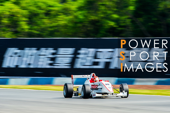Tomoki Takahashi of Japan and Super License drives during Formula Masters China Series as part of the 2015 Pan Delta Super Racing Festival at Zhuhai International Circuit on September 18, 2015 in Zhuhai, China.  Photo by Aitor Alcalde / Power Sport Images