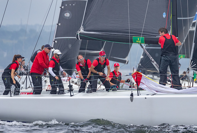 Anthony O'Leary's Royal Cork crew finished fourth overall at the Rolex New York Yacht Club Invitational Cup