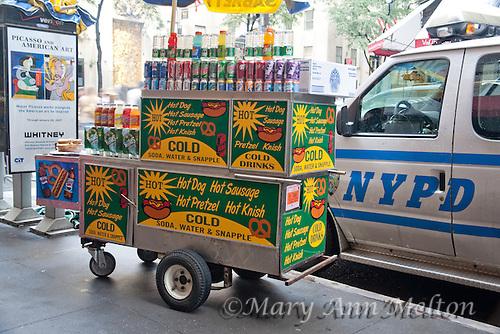Pretzel Food Stand New York City
