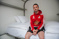 Thursday 02 July 2015<br /> Pictured:<br /> Re: Swansea City FC install sleeping pods at their training ground to help the players stay focused between training sessions