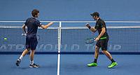 Jamie Murray (GBR) & John Peers (AUS) and Simon Bolelli (ITA) & Fabio Fognini (ITA) - Barclays ATP