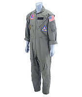 Costume and behind the scene pictures from classic movie Top Gun up for auction