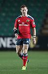 Scrum-half Cathal Sheridan of Munster Rugby.<br /> <br /> Guinness Pro 12<br /> Newport Gwent Dragons v Munster Rugby<br /> Rodney Parade<br /> 21.11.14<br /> ©Steve Pope-SPORTINGWALES