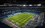 Estadio Santiago Bernabeu is seen prior to the UEFA Champions League 2017-18 Round of 16 (1st leg) match between Real Madrid vs Paris Saint Germain on February 14 2018 in Madrid, Spain. Photo by Diego Souto / Power Sport Images