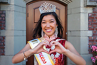 Princess Madelyn 2018, Chinese American Ambassador, Chinatown Seafair Parade, Seattle, WA, USA.