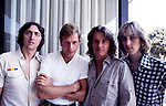 UK 1978 Allan Holdsworth Bill Bruford John Wetton and Eddie Jobson<br /> © Chris Walter