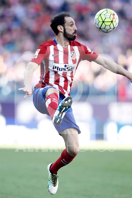 Atletico de Madrid's Juanfran Torres during La Liga match. April 30,2016. (ALTERPHOTOS/Acero)