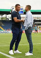 Trainer Pal Dardai, sport director  Manager Marc Arnold (Ex Herthaspieler)   <br /> / Sport / Football / DFB Pokal 1.round 3. Bundesliga Bundesliga /  2018/2019 / 20.08.2018 / BTSV Eintracht Braunschweig vs. Hertha BSC Berlin / DFL regulations prohibit any use of photographs as image sequences and/or quasi-video. /<br />       <br />    <br />  *** Local Caption *** © pixathlon<br /> Contact: +49-40-22 63 02 60 , info@pixathlon.de