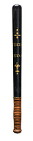 BNPS.co.uk (01202) 558833. <br /> Pic: Dreweatts/BNPS<br /> <br /> Pictured: This painted wood truncheon by Parker of Holborn has an estimate of £200.<br /> <br /> A hard-hitting single owner collection of rare 18th and 19th century police truncheons have emerged for sale.<br /> <br /> The over 50 wooden clubs were carried around by constables of the parish in the years before official police forces were founded.<br /> <br /> The batons were often beautifully decorated and sometimes stamped or marked to commemorate a notorious public order incident that had previously happened in the parish.